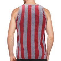Men's USA American Flag Sleeveless Shirt Summer Beach Patriotic Tank Top image 6