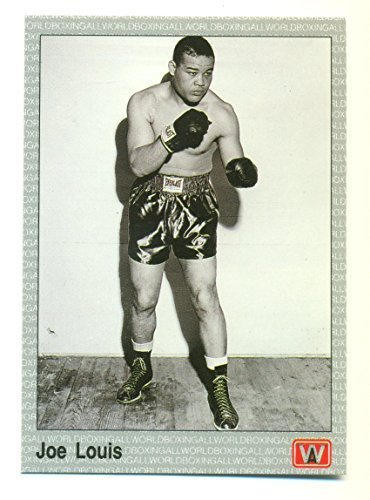 1991 AW Boxing Joe Louis #103 The Brown Bomber - Boxing Card