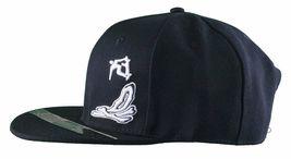 Dissizit! Smoke Bowls Skateboard D Bones Ramp Black Snapback Baseball Hat NWT image 3