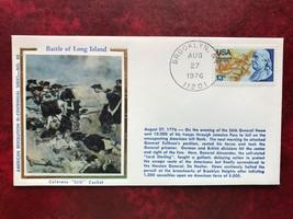 "American Revolution Bi-Centennial #Battle of Long Island - on Colorano ""... - $3.00"