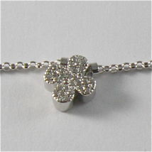 Silver Necklace 925 Jack&co with Four-Leaf Clover Heart Star and Butterfly 45 CM image 6