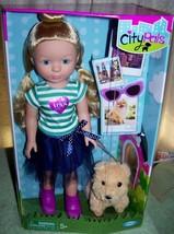"""Cititoys City Pals NEW YORK Neena 14.5"""" Doll & her Pomeranian Newton New - $34.50"""