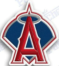 ANAHEIM ANGELS   iron on embroidered embroidery patch baseball  logo mlb - $10.95