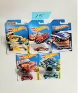Hot Wheels Cars Mixed Lot of 5 NEW Lot #15 - $9.70