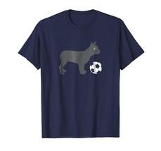 Dog Fashion - Soccer French Bulldog Dog Shirt Funny Cute Team Gift Men - $19.95+
