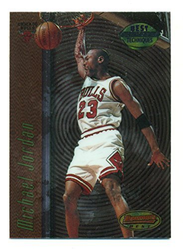 "1998 Bowmans Best Michael Jordan ""Best Techniques Scorer"" Insert #T2 - Basketbal"
