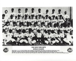 1969 NEW YORK METS 8X10 TEAM PHOTO BASEBALL PICTURE NY WORLD CHAMPS MLB - $3.95