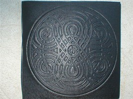 "Giant 22x22x3"" Celtic Knot Mold Makes Concrete Stepping Stone or a Thinner Tile  image 1"