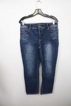 Chico's So Slimming Crop Jeans Sz 0 Womens Denim Stretch Medium Wash Cas... - $14.52