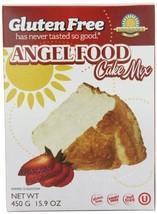 Kinnikinnick Gluten Free Angel Food Cake Mix, 15.9 Ounce Pack of 3
