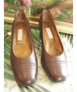 Barneys New York Heels - Dark Brown, Size 8 - $10.99