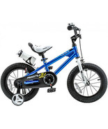 RoyalBaby Kids' Steel/Plastic 16-inch BMX Freestyle Bike With Training W... - $157.95
