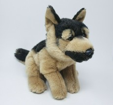"14"" TOYS R US 2012 GERMAN SHEPHERD REALISTIC PUPPY DOG STUFFED ANIMAL PL... - $42.08"