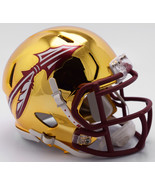 Florida State Seminoles Helmet Riddell Replica Mini Speed Style Chrome A... - $29.99