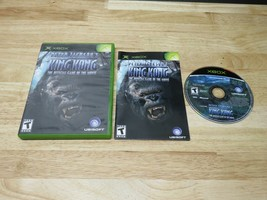 Peter Jackson's King Kong The Official Game of the Movie Xbox Original C... - $7.91