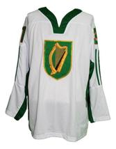 Any Name Number Team Ireland Retro Hockey Jersey White Bailey #31 Any Size image 1