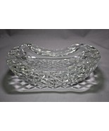 """Waterford Curved Crystal Ashtray - 7"""" x 4.5"""" x 2"""" - $225.00"""