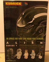 Medicom Japan Alien Kubrick Series 1 Brand New Sealed Case 24 Blind Box ... - $594.00