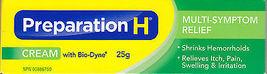 Preparation H with Bio Dyne Cream 4 x 25g Canadian  - $69.99