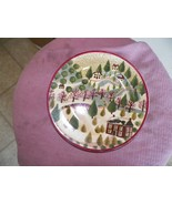 Block Country Village Winter salad plate 2 available - $2.72