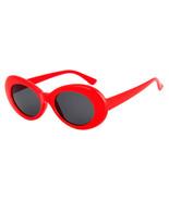 Oval Shape Child Sunglasses Candy Color Cute Round Wild Concave Shape P... - $8.88