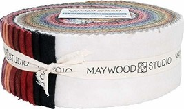 "Maywood Studio Woolies Flannel Color Wash 40-2.5"" Strips by Bonnie Sullivan - $69.06"