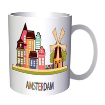 New I Love Amsterdam City  11oz Mug m474 - $11.98