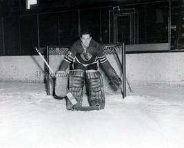 NHL 1963 Chicago Black Hawks Goalie Glenn Hall 8 X 10 Photo Picture - $4.99