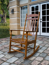 Shine Rocking Chair Rhode Island Style Porch Rocker Patio Deck 2 Colors  - $146.95