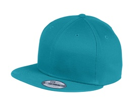 New Era 9Fifty Flat Brim Snapback Hat Cap Blank Shark Teal  950 new - $12.00