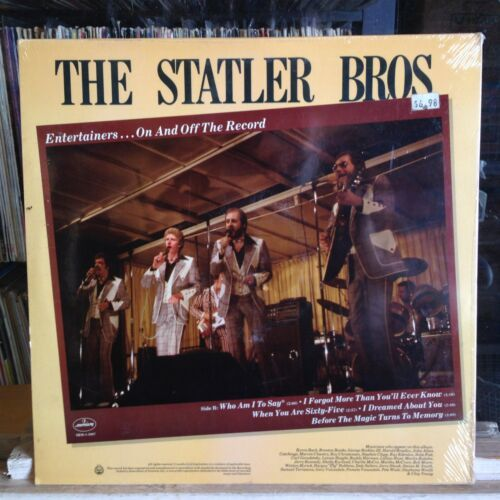 [ Rock/ Pop ]~ Sellado LP ~ The Statler Brothers ~ Entertainers On Off Record