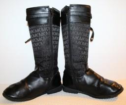 MICHAEL KORS RANEE-DD Girls Size 2 Black Size Zip Adjustable Strap Boots... - €24,92 EUR
