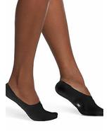 HUE Womens Sneaker Liners 2 Pack Black Socks One Size - NWT - $3.95