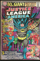 Justice League of America #48 DC COMICS 1966 1st Print 80 PG Giant - $22.77