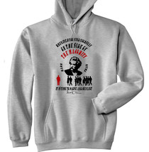 Mark Twain Majority Quote - New Cotton Grey Hoodie - $40.12