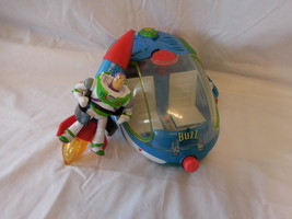 Disney Pixar Toy Story Buzz Lightyear Secret Hatch Spaceship + Toy Story... - $43.00