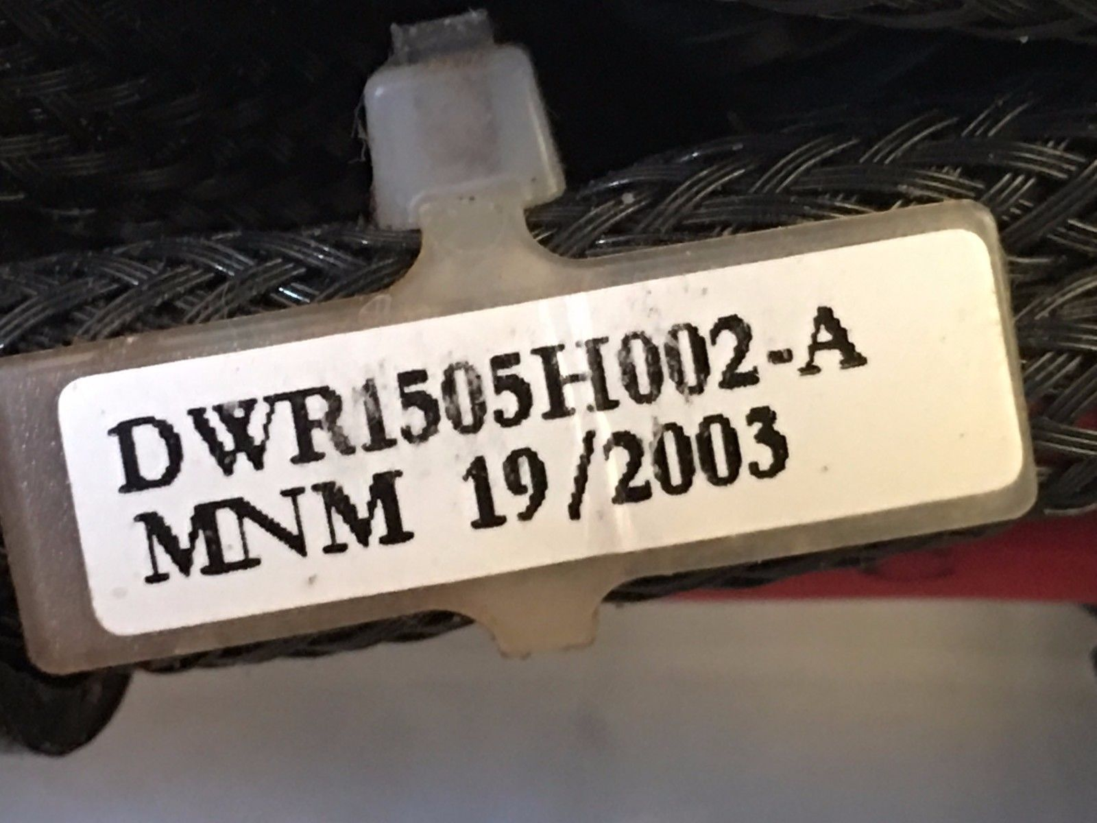 DWR1505H002 H-1505-002 Quantum Wiring Harness for Power Chairs
