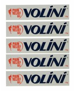 Pack Of 5 Pcs Volini Pain Relief Gel 15GM- Free Shipping Worldwide - $34.99