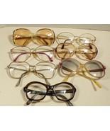 Lot of 7 VTG Prescription Womens Eyeglasses Christian De Rose Ellen Zimc... - $118.80