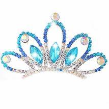 Attractive Crown Princess Bride Tiara Comb Inserted