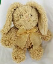 Commonwealth Plush Rabbit Brown Snuggle Bunny Shaggy Lop Ear Stuffed Ani... - $44.55