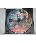 Playstation 2 - GOD OF WAR (Game Only) - $6.50