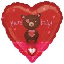 "Amscan International 1498099 36-inch ""bear Love Sing-a-tune"" Foil Balloon #cjd - $4.69"