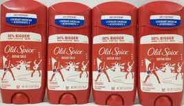 4 Pack Old Spice Guitar Solo Anti-Perspirant Deodorant 3.4 Oz. Each A2 - $35.59