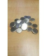 "JumpingBolt 18 Gauge 1"" Aluminum Discs Lot of 10 Material May Have Surfa... - $47.22"