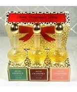 Vtg Avon Regence Charisma Unforgettable Perfume 0.5 Fl Oz Each Fragrance... - $24.99
