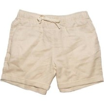 Faded Glory Girls Pull On Shorts Fruit Khaki Color Size X-SMALL 4-5 NEW - $9.89