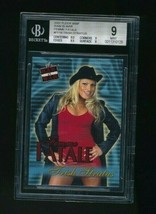 2001 Fleer WWF WWE Raw Is War Femme Fatale #FF16 Trish Stratus RC Rookie... - $70.00