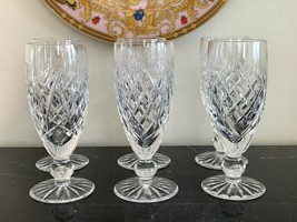 Waterford Crystal Donegal Cut  Fluted Champagne Glasses Set of 6 - $249.00