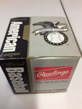 New in box 1994-99 Rawlings Official MLB American League Baseball Colema... - $19.95